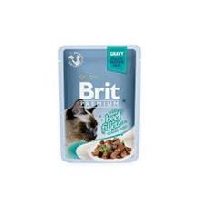Brit Premium Cat D Fillets in Gravy With Beef