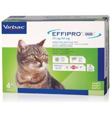 Effipro DUO Cat (1-6kg)- 4x0,5ml