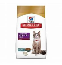 Hill's Feline Dry Sensitive Stomach Skin s kuřete