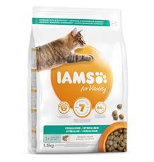 IAMS for Vitality Light in Fat Cat Food with Salmon