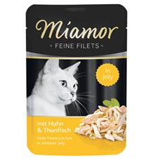 Miamor Cat Filet Kapsa Kuře+Tuňák