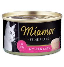 Miamor Cat Filet konzerva kuře+rýže