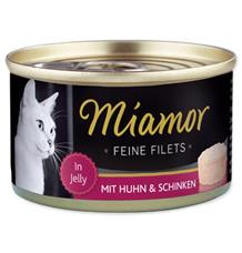 Miamor Cat Filet Konzerva Kuře+Šunka