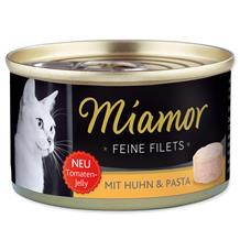 Miamor Cat Filet Konzerva Kuře+Těstoviny