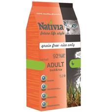 Nativia Cat Adult Duck&Rice Hairball
