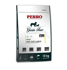 PERRO Grain Free Adult Soft Ente Large