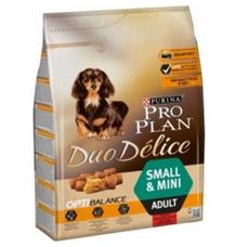 PRO PLAN Dog Adult Duo Délice Small & Mini Beef