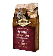 Carnilove Reindeer for Adult Cats - Energy & Outdoor