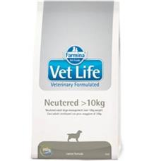 Vet Life DOG Neutered >10kg
